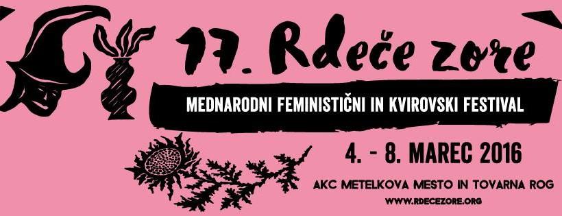 Festival Red Dawns 4 – 8th March 2016, Ljubljana