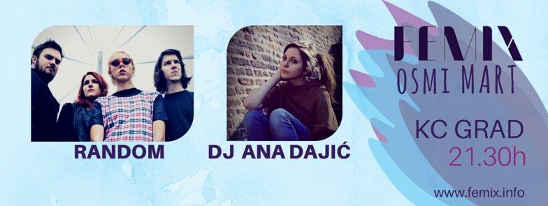 Femix proslavlja 8. mart uz DJ Anu Dajić i Random