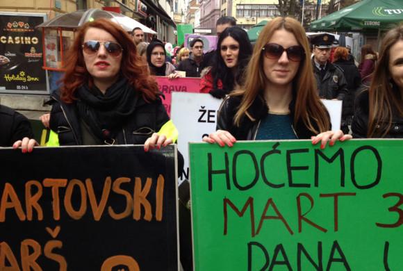 Fondacija CURE organizuje aktivističku šetnju na Međunarodni dan žena
