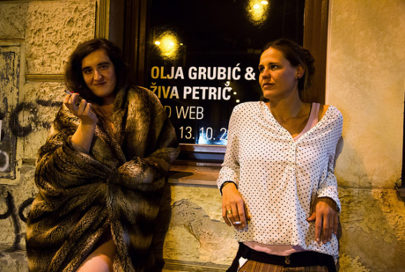 Olja Grubić i Živa Petrič