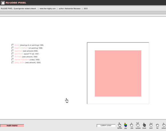 Rrose Pixel