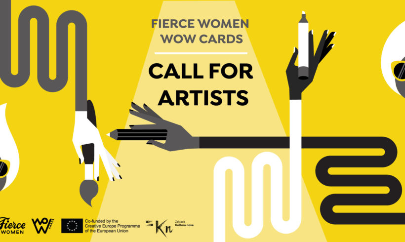 Fierce Women WoW karte – Poziv za umjetnice