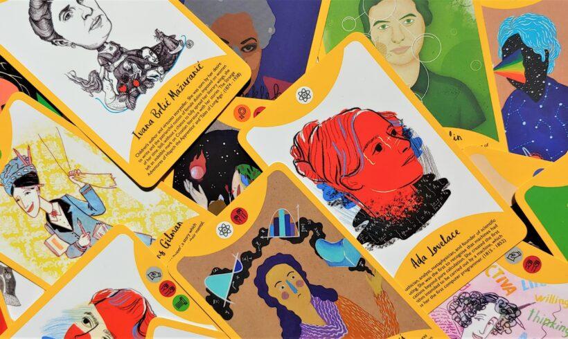Upoznajte ilustratore/ice Fierce Women WoW karata