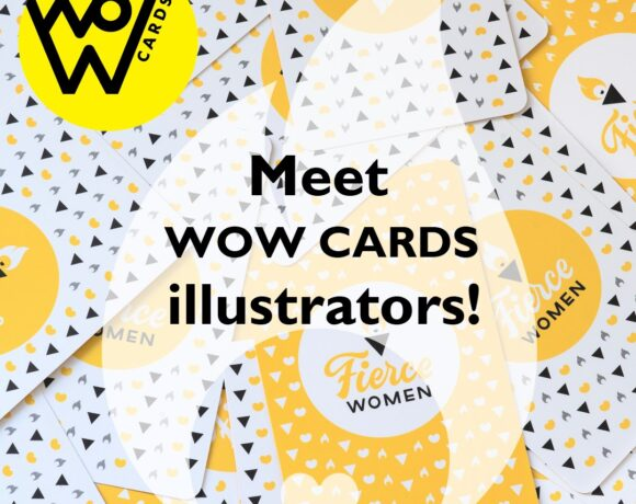 Fierce Women WoW cards illustrators